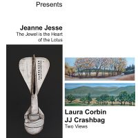 WCA presents paintings by Laura Corbin, JJ Crashbang and an installation by Jeanne Jesse