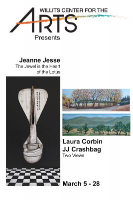WCA presents paintings by Laura Corbin, JJ Crashba...