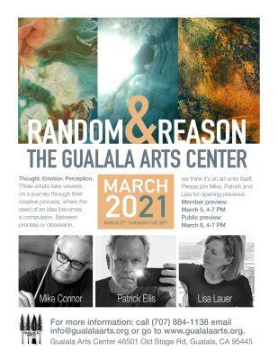 """Random & Reason"" A New Exhibit at Gualala Art..."