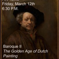The Willits Center for the Arts presents Baroque, Part II Art Talk