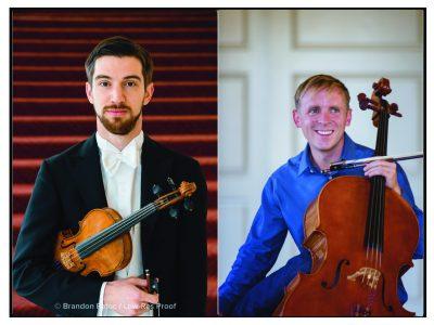 Wyatt Underhill, violin and Robert Howard, cello