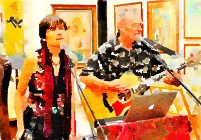 """From the Heart"" Duo at Blue Wing Sunday Brunch"