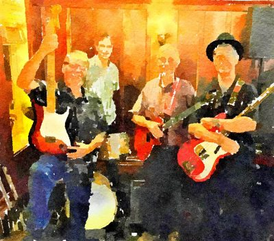 """""""Hip Replacements"""" at Blue Wing Monday Blues"""