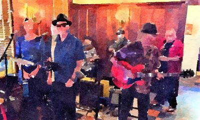 """""""Clean Sweep"""" at Blue Wing Monday Blues"""