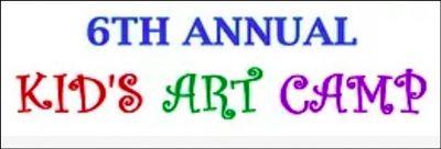 Sixth Annual Kids Art Camp