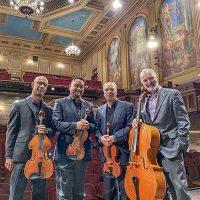 Alexander String Quartet, Mendocino Music Festival Concert