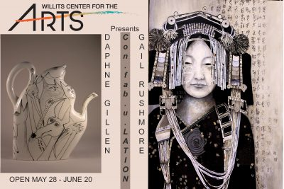The Willits Center for the arts presents Gail Rush...