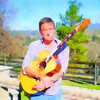 Steve Winkle Plays at Blue Wing Supper Service