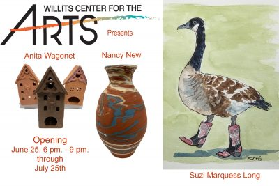 WCA Presents Nancy New, Anita Elliot-Wagenet and Suzi Long