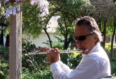 """""""Live at the Blue Wing"""" with George Husaruk on Flute"""
