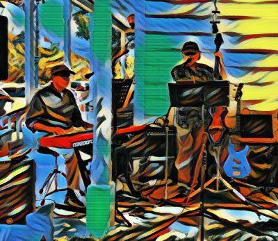 Aiken & Baird Play at Blue Wing Supper Service...