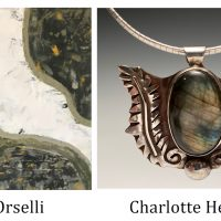 """""""Charlotte Healy and Lisa Orselli"""" at Northcoast Artists Gallery"""