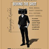 """""""The Thought Behind The Shot: Four Photographers; Four Walls"""" Opening"""