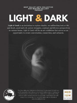 Light & Dark Themed Group Exhibition at Medium...