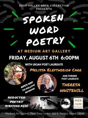 Spoken Word Poetry at Medium Art Gallery