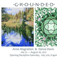 Willits Center for the Arts presents the incredible paintings of Anne Magratten and Danza Davis