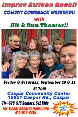 Improv Strikes Back! Comedy Comeback Weekend with ...