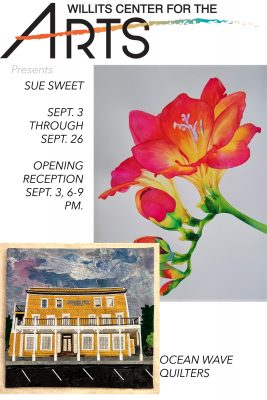 WCA: Paintings by Sue Sweet & Iconic Mendocino...