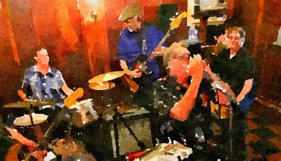 Bill Noteman & the Rockets at Blue Wing Monday Blues