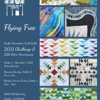 """2021 PPQG Quilt Challenge: """"Flying Free"""""""