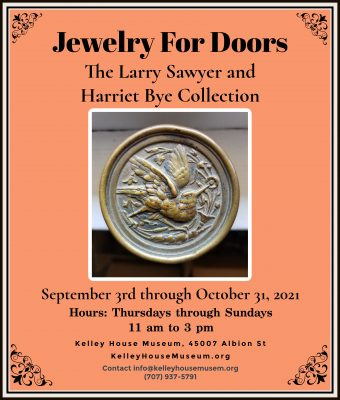 Jewelry For Doors – Vintage Doorknobs from The Larry Sawyer and Harriet Bye Collection