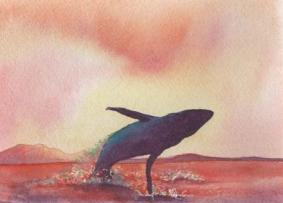 Online Workshop Taught by Nancy Collins: Incredible Colors When Creating Silhouettes