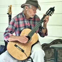 Paul Farley Plays at Blue Wing Supper Service