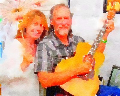 """""""Twining Time"""" Duo at Blue Wing Sunday Brunch"""