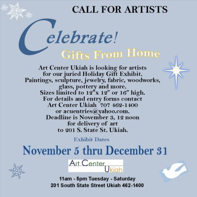 CALL FOR ART - Gifts From Home