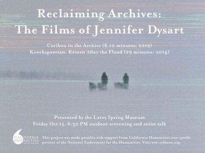RECLAIMING ARCHIVES: THE FILMS OF JENNIFER DYSART