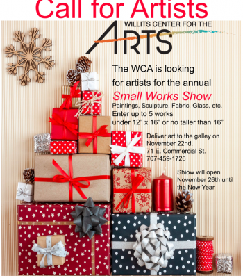 Call for Small Works Show Artists and Holiday Craf...