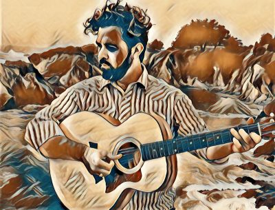 Aaron Ford Plays at Blue Wing Sunday Brunch