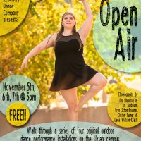 Open AIR presented by Mendocino College Repertory Dance Company