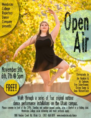 Open AIR presented by Mendocino College Repertory ...